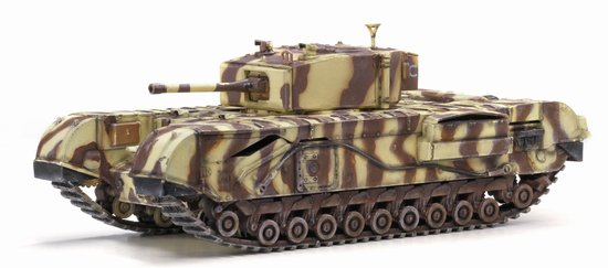 Churchill Mk.III 145th Royal Armoured Corps 21st Tank Brigade Junior Regiment Tunis 1943 (1:72)