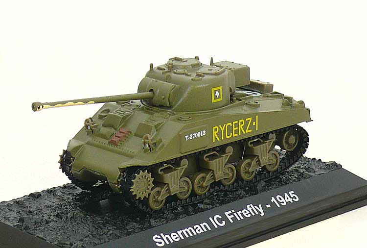 "Sherman IC Firefly, 2nd Squadron, 1st Krechowiecki Lancers, 2nd Armoured Brigade, 2nd ""Warsaw"" Armoured Division, Polish Armed Forces, Italy 1945 (1:72)"