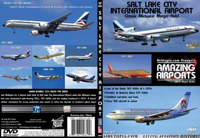 Salt Lake City International Airport - Rocky Mountain Mega-Hub! (DVD)