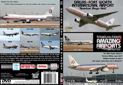 "Dallas-Fort Worth International Airport ""American Mega-Hub!"" (DVD)"