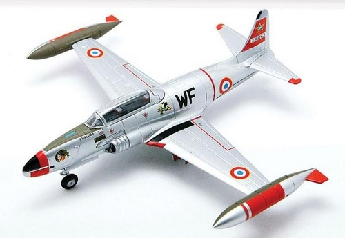 T-33A Shooting Star CIFAS-328, Armee de l'Air, Bordeaux-Merignac, 1971 (1:72)