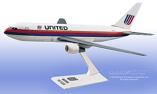 United 767-200 (Old Colors) (1:200)