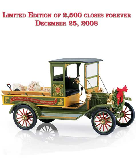 Ford Model T 2008 Christmas Truck (1:16)