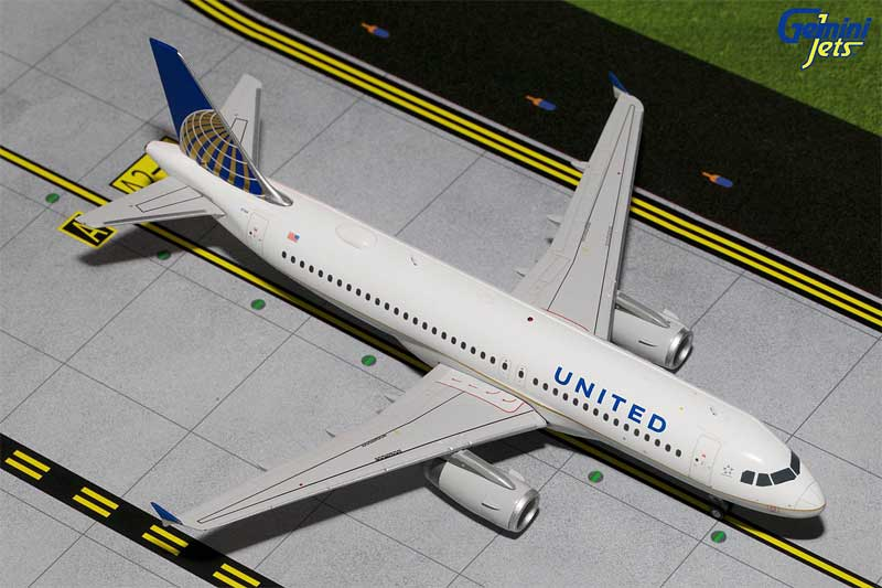 United A320 N404UA (1:200) - Preorder item, order now for future delivery