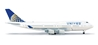 United 747-400 (1:500) Post Continental Reg: N128UA