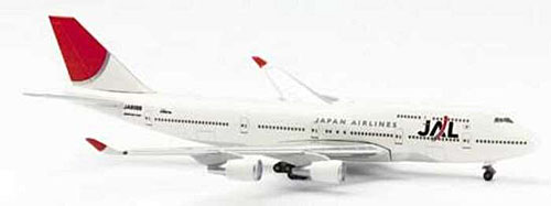 Jal 747-400 New Colors (1:500)