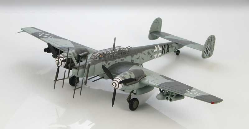 Bf-110G-4, 4./NJG3, Luftwaffe, Kjevik, Norway, 1945 (1:72)
