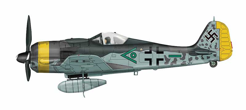 Fw 190F-9,Munich, Germany 1945 (1:48)