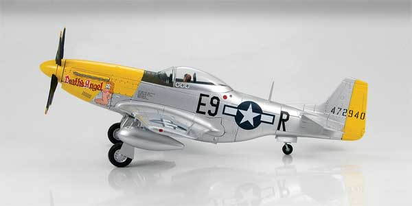 P-51D Mustang Lt. Harry Chapman, 376th Fighter Squadron, 361st Fighter Group (1:48)