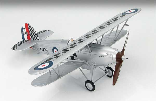 "Hawker Fury I  Sqn Leader R H  Hanmer  RAF No. 43 Sqn ""Fighting Cocks"" (1:48)"