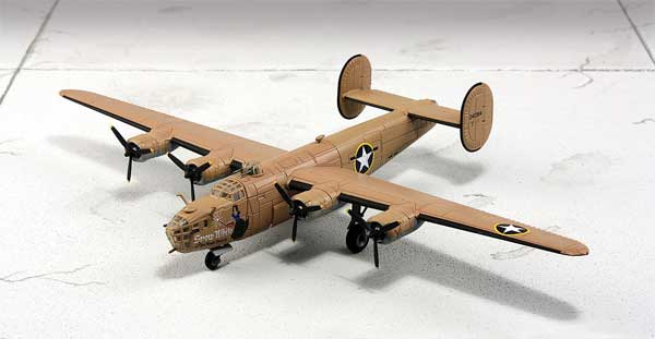 B-24D Liberator 343rd Bomb Squadron, 98th Bomb Group (1:144)