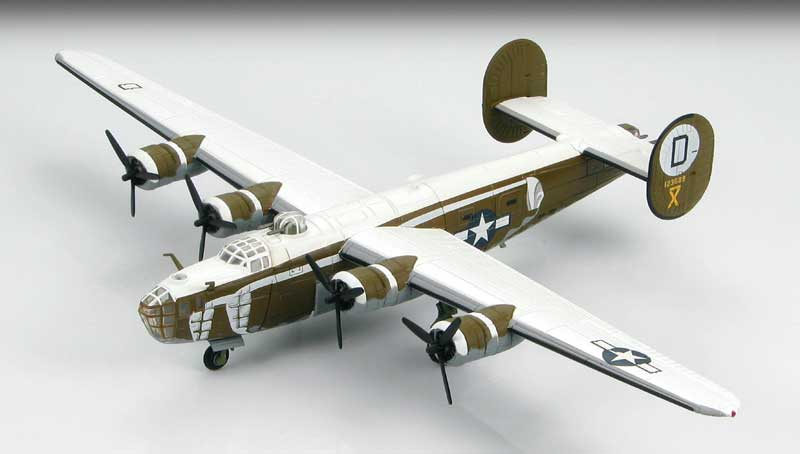 B-24D Liberator 392nd Bomb Group, Wendling, January, 1944 (1:144)