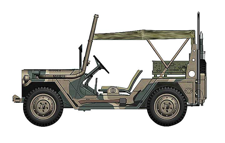 M151A2 Ford MUTT, US Marine Corps, Japan (1:48)