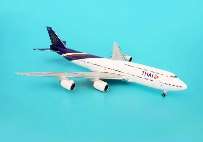 Thai 747-8 With Gear No Stand (1:500)