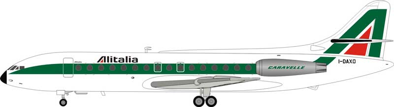 Alitalia Sud SE-210 Caravelle III I-DAXO (1:200) - Preorder item, order now for future delivery