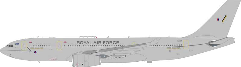 Royal Air Force Airbus A330 Voyager KC3 (A330-200) ZZ336 (1:200) - Preorder item, order now for future delivery