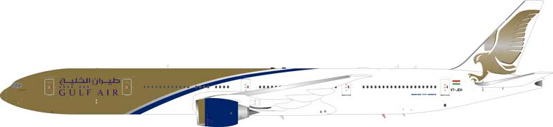 Gulf Air Boeing 777-300ER VT-JEH (1:200) - Preorder item, order now for future delivery