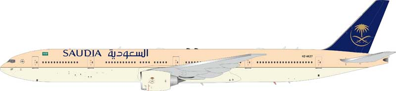 Saudi Arabian Airlines Boeing 777-300ER HZ-AK27 (1:200) - Preorder item, order now for future delivery