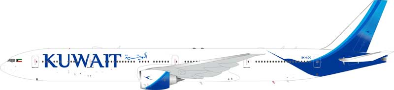 Kuwait Airways Boeing 777-300ER 9K-AOC (1:200) - Preorder item, order now for future delivery
