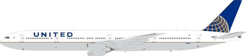 United Boeing 777-300 N58031 (1:200) - Preorder item, order now for future delivery
