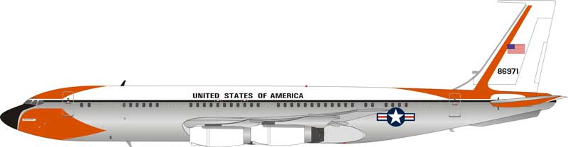 US Air Force Boeing VC-137B (707-153B) 58-6971 Polished (1:200) - Preorder item, order now for future delivery