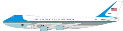 USAF Air Force One VC-25A (747-200) 92-9000 (1:200)