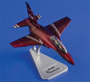 M-346, Red livery (1:100)