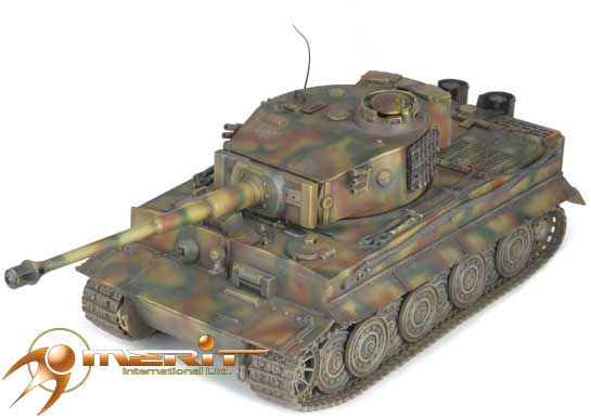 German Tiger Tank I Late Type (1:18)