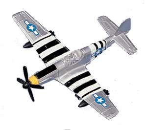 "P-51 Mustang (Approx. 3.5"")"