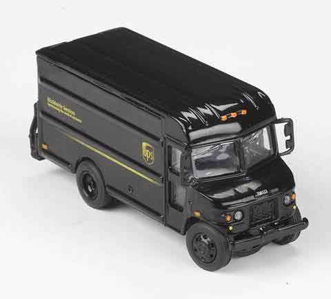 UPS Delivery Van (1:87/HO Scale)