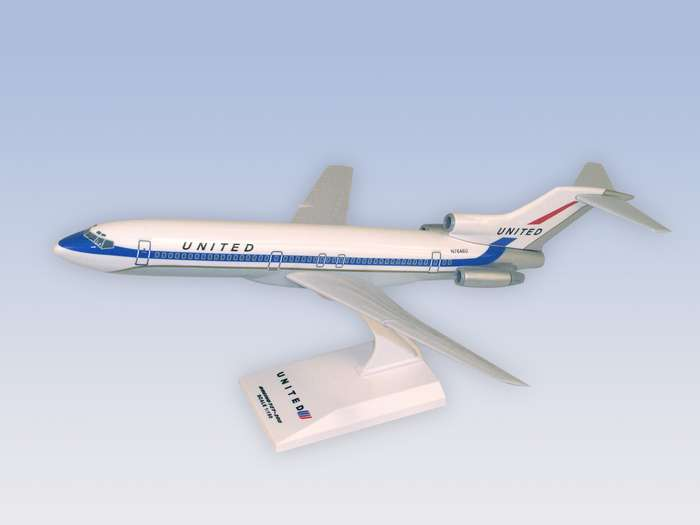 "United B727-200 ""Delivery Colors"" (1:150)"