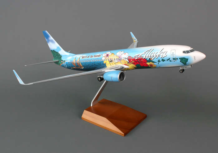 Alaska 737-800 (1:100) Spirit Of The Islands