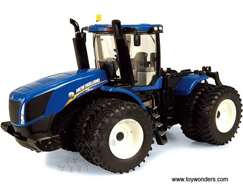 New Holland T9.450 Farm Tractor (1/32 scale diecast model, Blue)