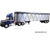 Mack Pinnacle with Tipper Trailer Netting (1:34) (Blue)