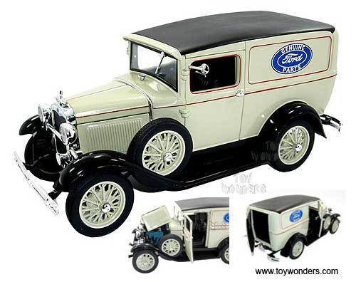 Ford Delivery Truck (1931, 1/18 scale diecast model car, Tan) 18137