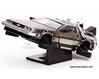 Back To The Future Part II DeLorean (1/43 scale diecast model car, Stainless Steel)