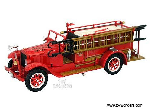 Reo Fire Truck (1928, 1/32 scale diecast model car, Red)