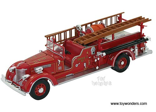 Packard Fire Engine L.F.D. (1939, 1/32 scale diecast model car, Red)