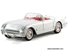Chevrolet Corvette Convertible (1953, 1/32 scale diecast model car, White)
