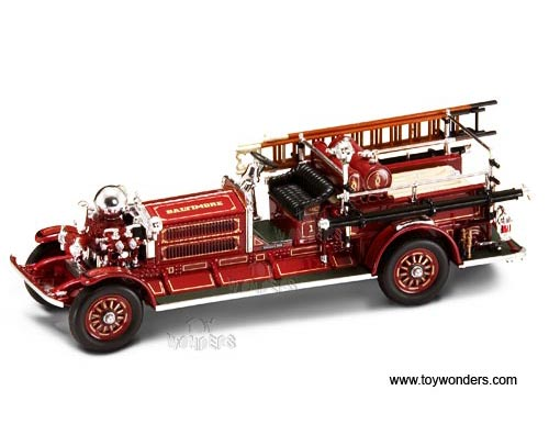 Ahrens-Fox N-S-4 Fire Engine Baltimore (1923, 1:43, Red) 43004