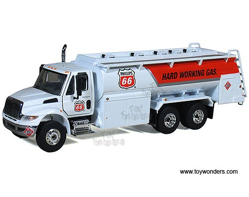 International DuraStar Liquid Fuel Tanker (1:50) (White)