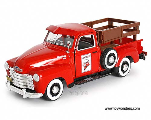 Chevy 3100 Stake Pickup Truck (1950, 1:43, Red)
