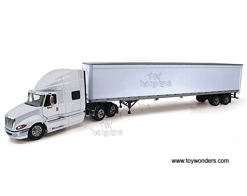 International ProStar w/ 53' Trailer (1:64) (White)
