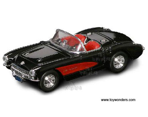 Chevrolet Corvette Convertible (1957, 1:43, Black) 94209