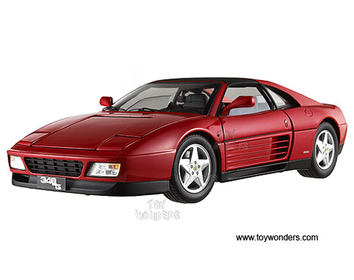 Ferrari 348 TS Hard Top (1/18 scale diecast model car, Red)