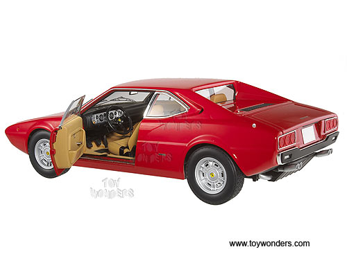 Ferrari Dino 308 GT4 Hard Top (1/18 scale diecast model car, Red)