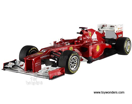 Ferrari F2012 F1 Formula Fernando Alonso #5 (2012 Malaysian GP, 1/18 scale diecast model car, Red)
