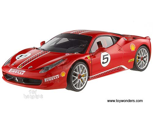 Ferrari Challenge Hard Top #5 (1/18 scale diecast model car, Red)