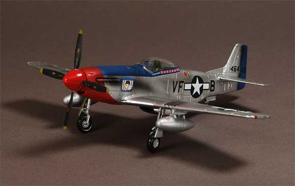 P-51D Mustang, 336th FS, 4th FG, 1945, Pilot Fred W. Glover (1:72)
