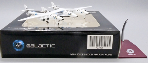 Virgin Galactic White Knight Two with Spaceship Two N348MS (1:200 Scale) - Preorder item, order now for future delivery